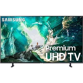 Samsung UN75RU8000FXZA Flat 75-Inch 4K 8 Series Ultra HD Smart TV with HDR and Alexa Compatibility (2019 Model), Gray