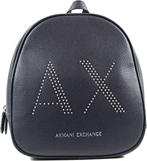 Armani Exchange Backpack for Women- Navy