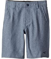 O'Neill Kids - Locked Stripe Hybrid Shorts (Toddler/Little Kids)