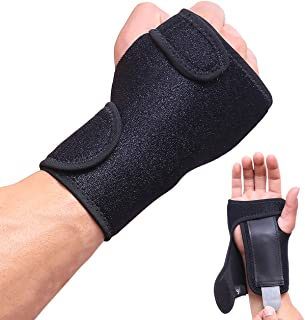 HiRui Wrist Brace, Wrist Support with Splints for Men Women Youth, Hand Support for Carpal Tunnel Arthritis Tendonitis Spr...