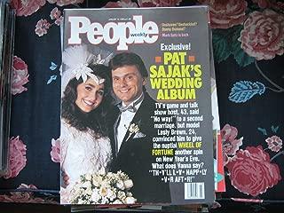 People Weekly (Pat Sajak's Wedding Album...People Exclusive...Wheel of Fortune, January 15 , 1990)