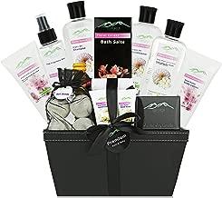 Large Bath Body Gift Basket - Ultimate Spa Basket etc. #1 Spa Gift Basket for Women, Teens! Spa Kit Best Pampering Gift for Women & Gift Basket for Mom!