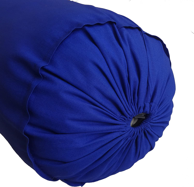 Saffron Bolster Pillowcase Decorative C Max 53% OFF OFFer Bed Round Pillow