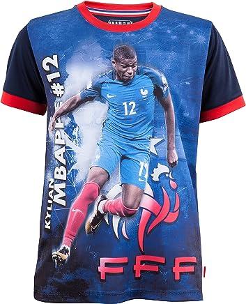f941d79241737 Equipe de FRANCE de football Maillot FFF - Kylian MBAPPE - Collection  Officielle Taille Enfant