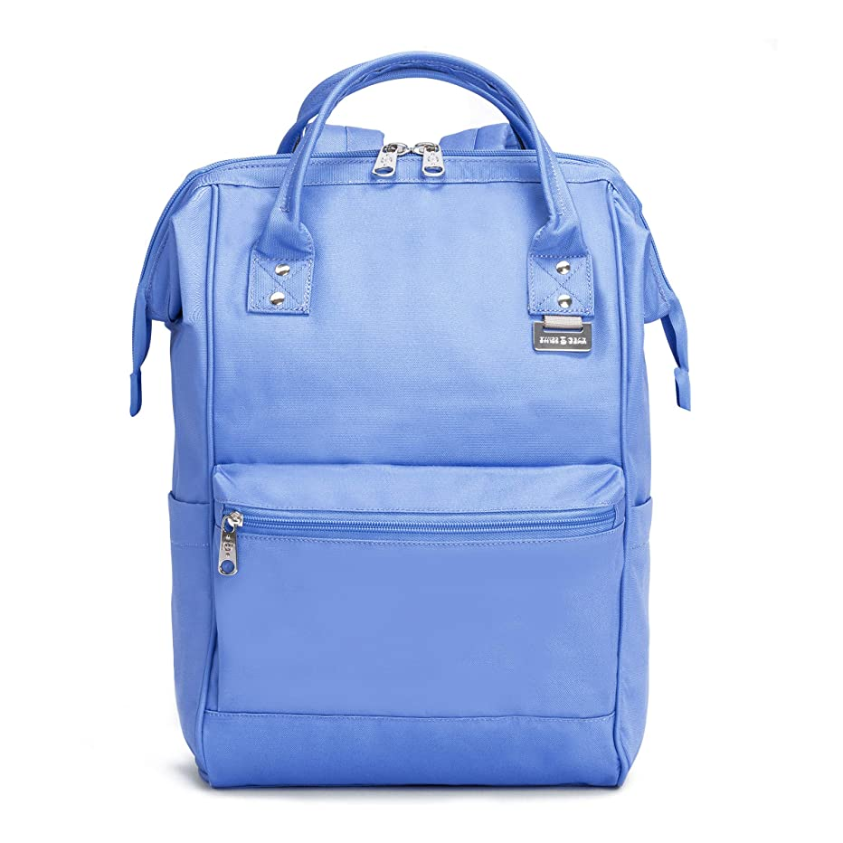 "SwissGear 3576 Artz Laptop Backpack. Vintage-Inspired Everyday Doctor Bag Backpack (13"", Periwinkle with TSA Lock - Colors May Vary)."