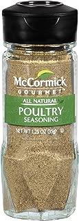 McCormick Gourmet Poultry Seasoning, 1.25 oz