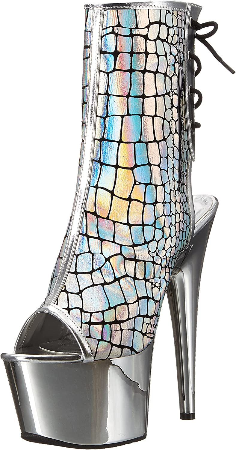 Pleaser Womens ADORE-1018HG Ankle Boot
