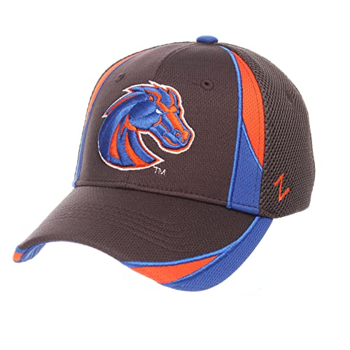604adaee40095b ZHATS NCAA Boise State Broncos Adult Men Torque, Medium/Large, Charcoal
