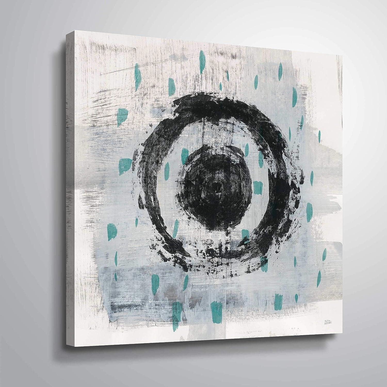 ArtWall High order Melissa Averinos OFFicial shop 'Zen Circle with Crop Gallery II Teal'