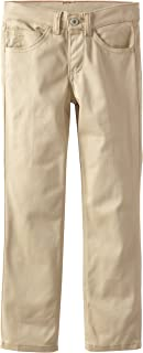 Dickies Big Girls' 5-Pocket Stretch Twill Pant