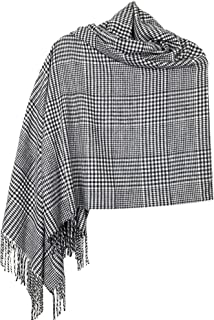 Achillea Oversized Cashmere Feel Scotland Scottish Tartan Plaid Scarf Shawl Wrap Winter Warm 80