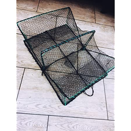 Köderfischreuse Reuse Krebsreuse Aalreuse 47*23*23cm Fischreuse Netz Hechtangeln