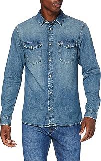 Tommy Hilfiger Extr Slim Layton STR Bedias Blue Jeans Relaxed Uomo