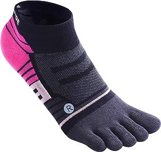 Toe Socks, Women & Men No Show Low Cut Ankle Toesocks Lycra Separator Socks for Running