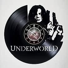 The Underworld - Selene - Kate Beckinsale - Vinyl Wall Clock - Handmade artwork - Unique home bedroom living kids room nursery wall decor great gifts idea for birthday, wedding, anniversary