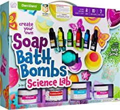 Soap & Bath Bomb Making Kit for Kids - 3-in-1 Spa Science Kits For Kids : Complete Soap Making Kit & Make Your Own Bath Bo...