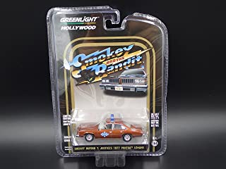 Greenlight 1:64 Hollywood Series 18 - Smokey and The Bandit - Sheriff Buford T Justice's 1977 Pontiac Lemans
