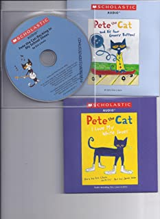 Pete the Cat Audio CD Pack : Includes 3 Audio CDs : Pete the Cat and His Four Groovy Buttons CD / Pete the Cat: I Love My White Shoes CD / Pete the Cat: Rocking in My School Shoes CD (Pete the Cat Audio CDs)