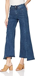 EVIDNT Women's Gracia Wide Leg Jeans