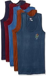 Rupa Jon Boys' Cotton Vest (Pack of 5)