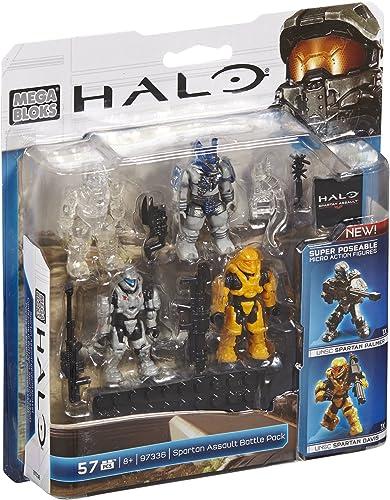 Mega Bloks – Halo – 97336 – Ensemble De Combat Spartan Assault