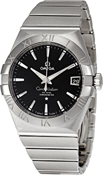 Omega Constellation Black Dial Automatic Men's Watch