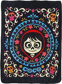"""Disney's Coco, """"Miguel"""" Micro Raschel Throw Blanket, 46"""" x 60"""", Multi Color"""