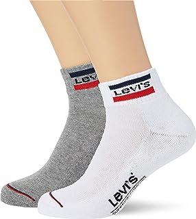 Levi's Sportswear Logo Unisex Mid Cut Socks Multipack 6 Pack Chaussettes décontractées Mixte