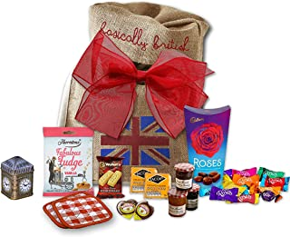 The Great British Tea Hamper | British Tea Gift Set British Gifts | Big Ben New English Tea Tin Coasters in Basically Brit...