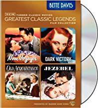 TCM Greatest Classic Film Collection: Legends - Bette Davis (Now, Voyager / Dark Victory / Old Acquaintance / Jezebel)