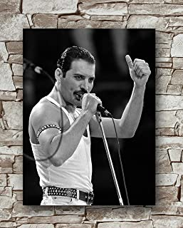 Freddie Mercury Poster Size 18 Inches X 24 Inches,Freddie Mercury Posters Wall Poster Print
