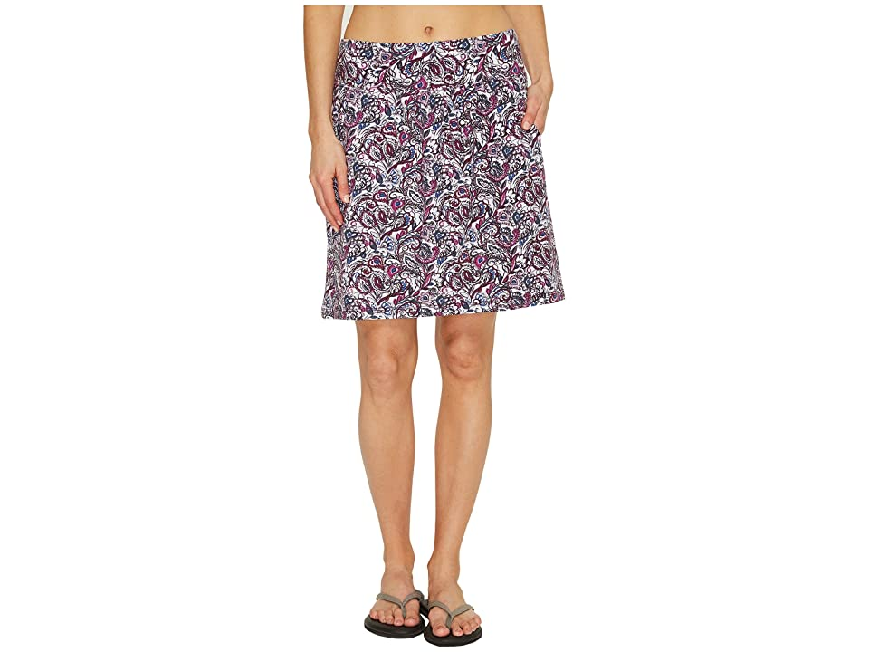Royal Robbins Essential Tencel(r) Tapestry Pocket Skirt (Aster) Women