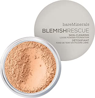 bareMinerals Blemish Rescue Skin-Clearing Loose Powder Foundation 0.21 Ounce - Golden Nude 3.5NW