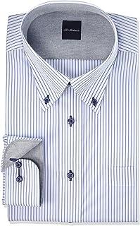[フレックスジャパン] デザインワイシャツ 吸水速乾で乾きやすく 形態安定加工 長袖 シャツ DASM76 メンズ