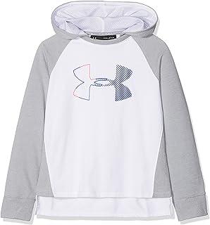 * Under Armour Girls /'Armour Polaire Imprimé Big Logo Sweat à capuche Taille Youth XS /& Small Medium