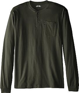 2c8bc37c Key Apparel Men's Big & Tall 3-Button Long-Sleeve Henley Pocket ...