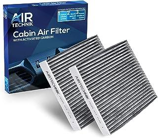 AirTechnik CF10285 Cabin Air Filter w/Activated Carbon (2 Pack) | Fits Select Jaguar, Land Rover, Pontiac, Scion, Subaru, Lexus, and Toyota Models