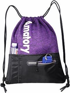 4e76ae639753 Amazon.com: amatory drawstring backpack