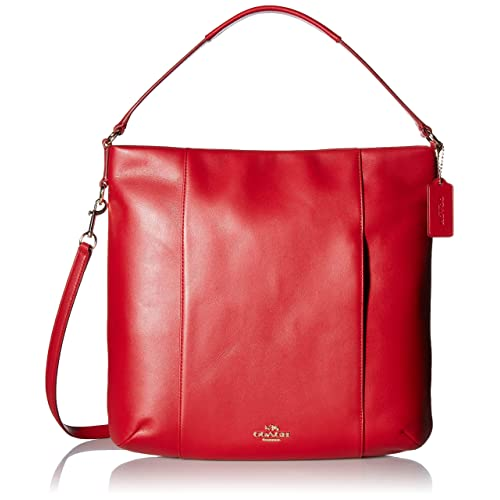 b0ea91b513562 COACH Womens Leather Isabelle Shoulder Bag
