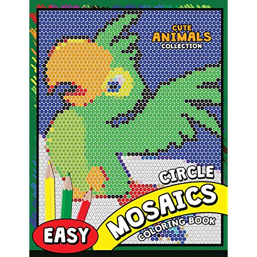 Mosaic Coloring Pages Amazon Com