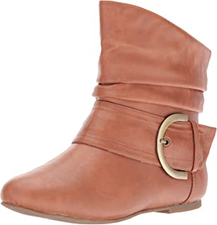 Women's Ankle Booties Buckle Buckle Slouch Flat Heel Strap Fashion Shoes