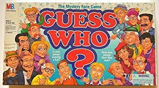 Guess Who Board Game 1996 Edition