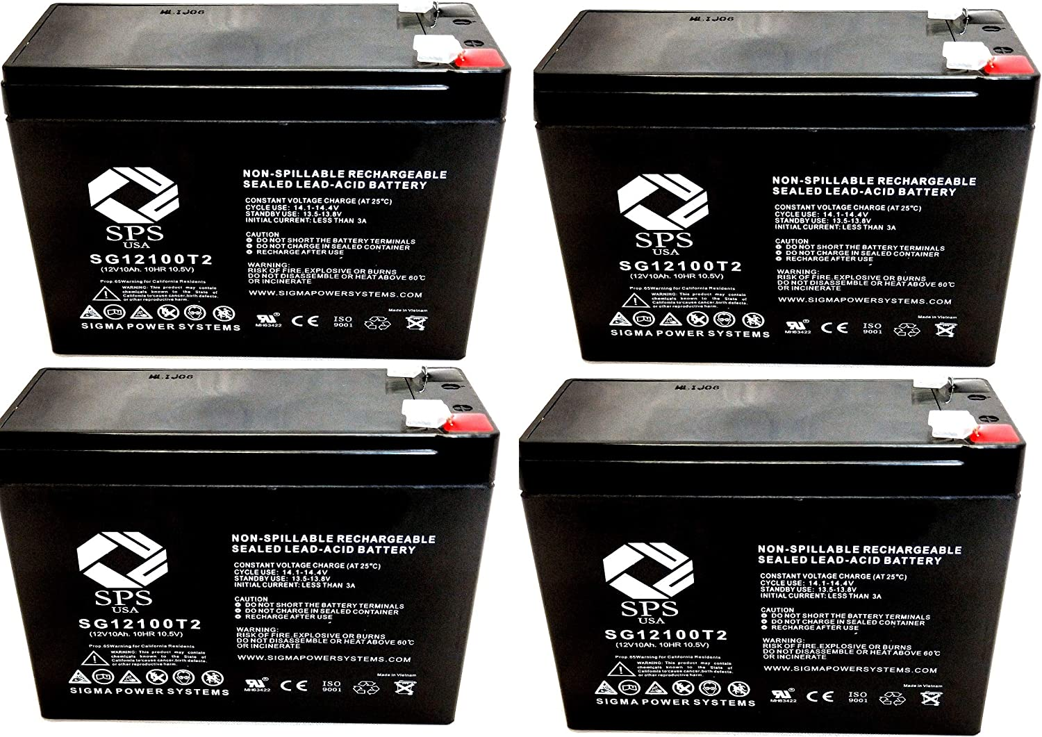 SPS Max 58% OFF Brand 12V 10Ah Selling Replacement Battery Access Pack SLA1272 for