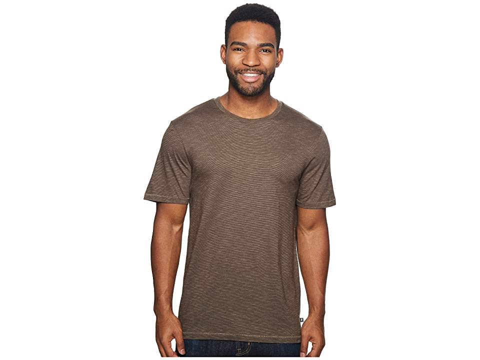 Toad&Co Tempo Short Sleeve Slim Crew (Jeep) Men