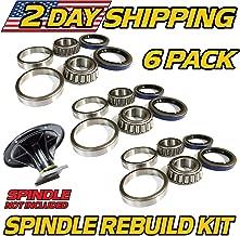 (3 Kits) Spindle Bearing & Seal Rebuild Kit Toro Z Master 119-8599, 108-7713, 106-3217 with Seals - HD Switch