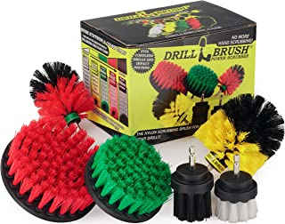 The Ultimate – Drill Brush – Cleaning Supplies – Kit – Bathroom..