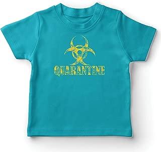 lepni.me Kids T-Shirt Self Quarantine and Chill Social Distancing Stay at Home Shirt