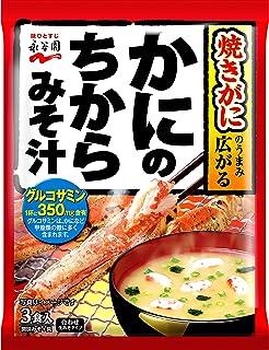 Force miso soup 3 Kuii X10 bags of Nagatanien crab