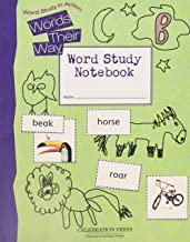 WORDS THEIR WAY LEVEL B STUDENT NOTEBOOK 2005C