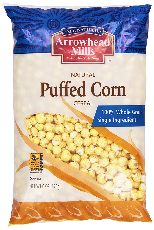 service Arrowhead Mills Choice Cereal Puffed oz. Corn 6